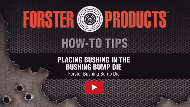 Placing Bushing in the Bushing Bump Die at YouTube.com