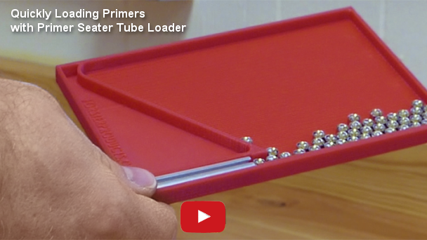 Quickly Loading Primers with Primer Seater Tube Loader at YouTube.com