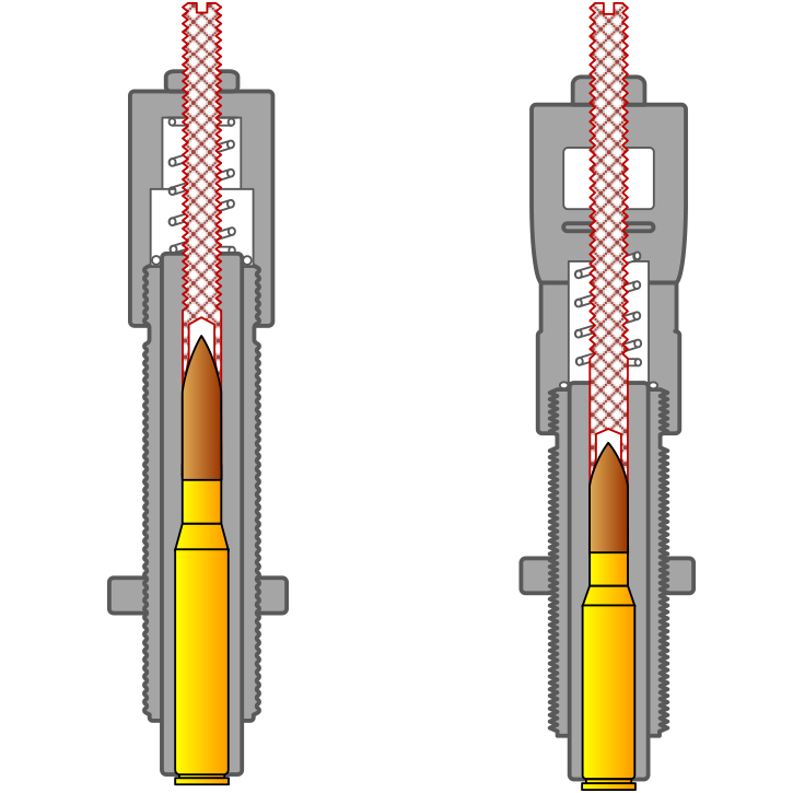 Bullet Seating Stems