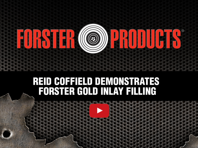 Forster Products Gunsmith Gold Inlay Demonstration by Reid Coffield at YouTube.com