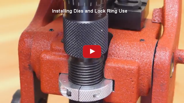 Installing Dies and Lock Ring Use at YouTube.com